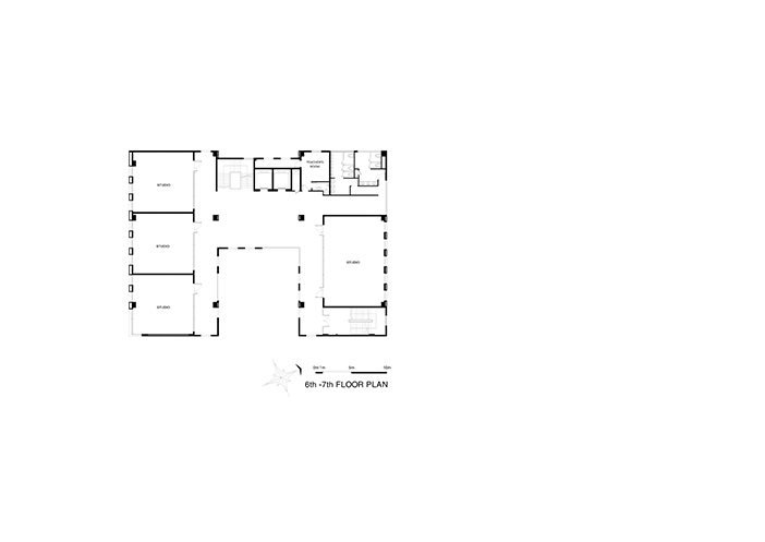 06-6th - 7th Floor Plan